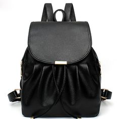 women backpack famous brands 2016 new Mochila school bags women leather  Backpacks travel bags female bag ebf24644a9c1c