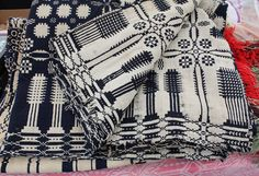 great textile for upholstery/coverlet/pillow. b&w; I know I like it.