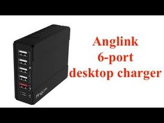 AngLink 50W USB 'C' Charger (6 PORT)