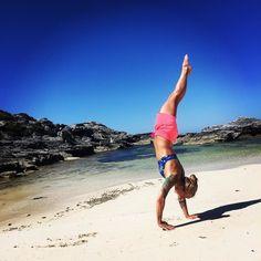 Exploring the beaches on Rottnest Island. Today's #AMRAP: handstand walking in the sand.  #handstand #handstandwalking #explore #handstandeverywhere #beach #island #sand #ocean #bluesky #sun #tan #crossfit #crossfitgirls #girlswithtattoos #tattoos #holiday #travel #australia #westernaustralia #rottnestisland #upsidedown #fitgirl #strong #training #practice #lifeisbetteratthebeach #wanderlust #bebetter #wehandstand by bebetter_claudia http://ift.tt/1L5GqLp
