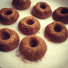 Donuts: The sugar free, low carb, high protein version (plus, they taste good!)