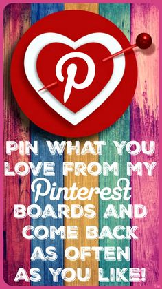 Pin what you love from my Pinterest boards ♥ Tam ♥