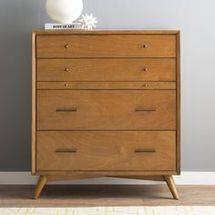 Shop Foundstone at Wayfair for a vast selection and the best prices online. Enjoy Free and Fast Shipping on most stuff, even big stuff! 7 Drawer Dresser, 3 Drawer Chest, Chest Of Drawers, Top Drawer, Pallet Furniture, Bedroom Furniture, Modern Furniture, Bedroom Decor, Furniture Decor