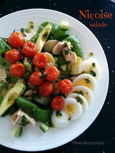 Salade Niçoise - slightly deconstructed