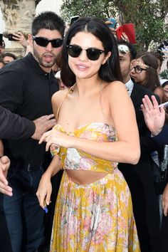 Selena Gomez attends Day 7 of Ischia Global Film & Music Fest 2014 on July 18, 2014 in Ischia, Italy