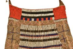 Beaded Leather Skirt A young woman's  initiation  skirt from the Iraqw peoples of Tanzania.  This is a ritual transition garment marking the changes in life after coming of age. Decorative Beads, Cultural Identity, Coming Of Age, Tanzania, Leather Skirt, African, Traditional, Woman, Yellow