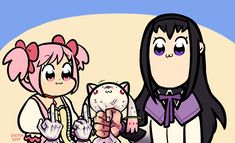 Madoka Magica, Sayaka Miki, Manga Games, Animal Quotes, Stupid Funny Memes, Magical Girl, Digimon, Shoujo, Otaku