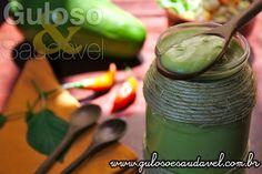 Esgotou as ideias de novos molhos? A dica é super leve e saudável, é esta Maionese de Abacate que vai incrementar a sua salada ou sanduíche!  #Receita aqui: http://www.gulosoesaudavel.com.br/2013/05/15/maionese-abacate/