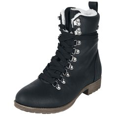 Boot von Rock Rebel by EMP Brandit Laars Winterboot  Nu te koop bij  Large  Meer Casual wear Laarzen