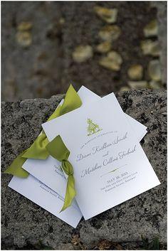 Bahamas destination wedding program I Custom by Nico and Lala