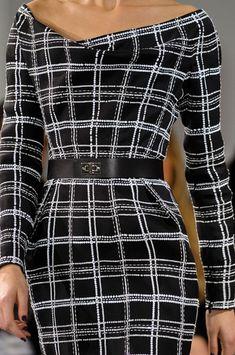 Christian Dior Spring 2012 - Love the wide shoulders - wonderful on an hourglass shape. Christian Dior, Fashion Tips For Women, Womens Fashion, Fashion Details, Fashion Design, White Fashion, I Dress, Fashion Dresses, Dior Fashion