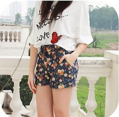 Flowery pants must have