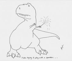 T-Rex trying to play with a sparkler. why do I find t rex jokes so funny? T Rex Tattoo, T Rex Arms, T Rex Shirt, T Rex Humor, Dinosaur Funny, Sparklers, Prehistoric, Spirit Animal, Make Me Smile