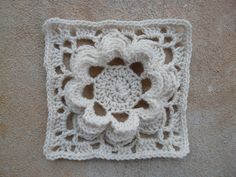 American School of Needlework #1216, 101 Crochet Squares #17