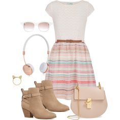 Sin título #255 by silvana-loli-olivas on Polyvore featuring moda, maurices, Witchery, Chloé, Aamaya by priyanka, Frends and Chris Benz