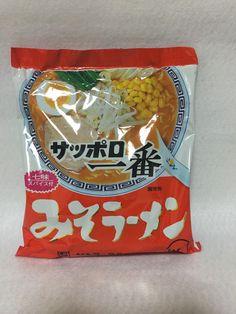 "SANYO+""Sapporo+Ichiban+MISO+RAMEN""+Instant+Noodles.+MISO+Soup.+Japanese+#SanyoFoods"
