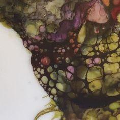 """97 curtidas, 5 comentários - Alicia Tormey (@aliciatormey) no Instagram: """"Botanical detail shot... Love the greens! #botanicalart #green #hotwax #encaustic #art #color…"""""""