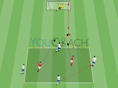 Preparatory drill for the seek of depth through striker's cuts Football Coaching Drills, Hockey Drills, Team Coaching, Liverpool, Youth Quotes, Soccer Workouts, Weight Training Workouts, Youth Soccer, Soccer Training