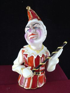 BRONTE LTD. EDITION CANDLE SNUFFER - PUNCH AND JUDY - PUNCH