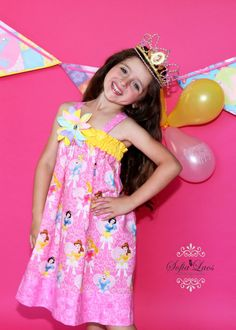 Princess outfit dress Disney Birthday Party baby by GinaBellas1, $45.50
