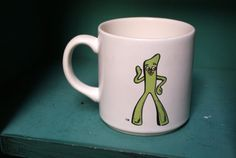 Vintage Gumby Mug by CoffeeApothecary on Etsy, $10.00