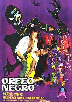 0345C | Marcel Camus | Orfeu Negro [Sort Karneval] | Brasillien /Frankrig /Italien (1959)