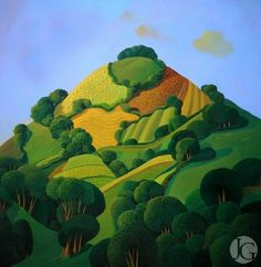 Jo March - Lady's Hill ... I love her nature prints and the colors...