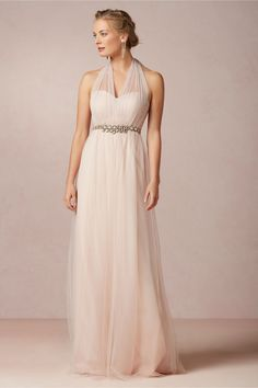 Gorgeous choice for a second time bride dress! Annabelle Dress  BHLDN