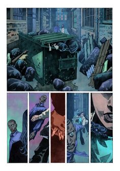 A page from Veil#2 (Dark Horse Comics). Story: Greg Rucka
