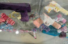 Monte Smith #Crochet Gun Store #Art Installation