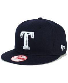 New Era Texas Rangers C-Dub 9FIFTY Snapback Cap - Blue Adjustable