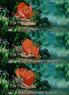 Favorite Tarzan quote EVER!! :)