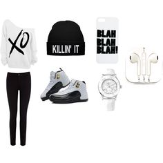 """black and white affair"" by nneuphtalie on Polyvore"