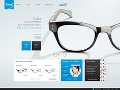Krys Configurator by yul , via Behance