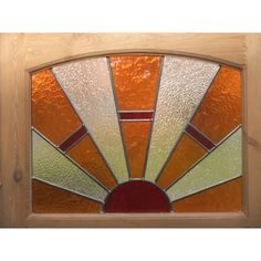 Edwardian Original Stained Glass Exterior Door - with Sunburst 1 Stained Glass Door, Stained Glass Crafts, Stained Glass Patterns, Diy Sliding Barn Door, Sliding Glass Door, Purple Front Doors, Rustic Window Treatments, Exterior Doors With Glass, Window Art