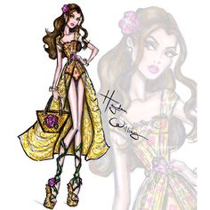 #DisneyDivas 'Beach Beauties' by Hayden Williams: Belle
