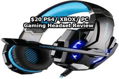 For two years I played Pro Gaming at a very high level in the game Unreal Tournament. I decided to review a $20 Off Brand PS4 Headset #Playstation4 #PS4 #Sony #videogames #playstation #gamer #games #gaming