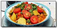 7 Vegetable Moroccan Stew - Vegan....leave out the salt for ETL.