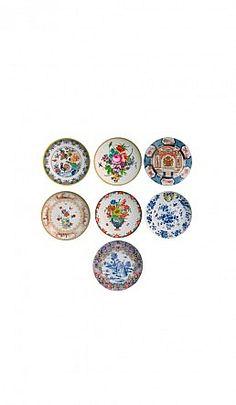 Delft melamine plates - Plümo Ltd  - These are so PRETTY!!