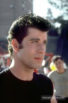 John Travolta in Grease directed by Randal Kleiser, 1978 Danny Grease, Grease 1978, Grease Movie, John Travolta Young, Grease John Travolta, 1970s Movies, Old Movies, Jeff Conaway, Grease Is The Word