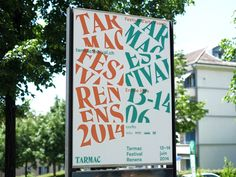 Website, visual identity and poster design for http://www.tarmacfestival.ch/ - a street art performing festival in Renens, Switzerland