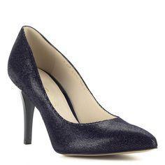 f03415d945 Anis kék-ezüst magassarkú női cipő Anis kék-ezüst magassarkú női cipő 9 cm