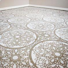 Mandala? vloerpatronen   diy #jmdinspireert
