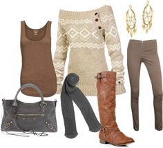 """""""Layer with leggings"""" by thriftychicliv on Polyvore"""