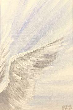Angel Wings Painting, Angel Art, Angel Paintings, Angel Wings Art, Angel Aesthetic, White Aesthetic, Angel Wallpaper, Guardian Angels, Jolie Photo