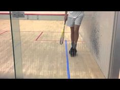 Squash Solodrill 9: improve your deep backwall shots: into target - YouTube