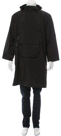 Givenchy Hooded Oversize Coat