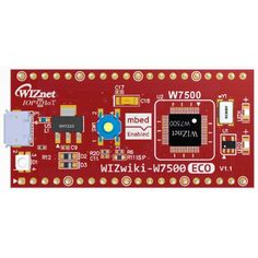 WIZwiki-W7500ECO is a compact-sized WIZwiki platform board based on the W7500, the ARM Cortex-M0 that integrates 128KB Flash and hardwired TCP/IP core. WIZwiki-W7500ECO will enable you to develop the IoT proto quickly and easily.