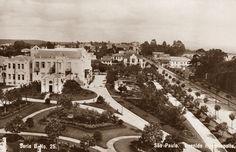 1909 São Paulo fotografia de Gaensly  Avenida Higienópolis - Guilherme Gaensly - DCP