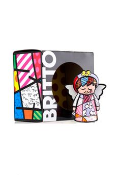 Romero Britto Faith Angel for Grandma
